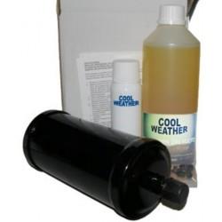 Zestaw filtr i olej stacji do klimatyzacji